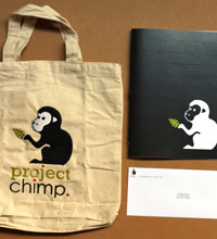 Project Chimp Print Collateral
